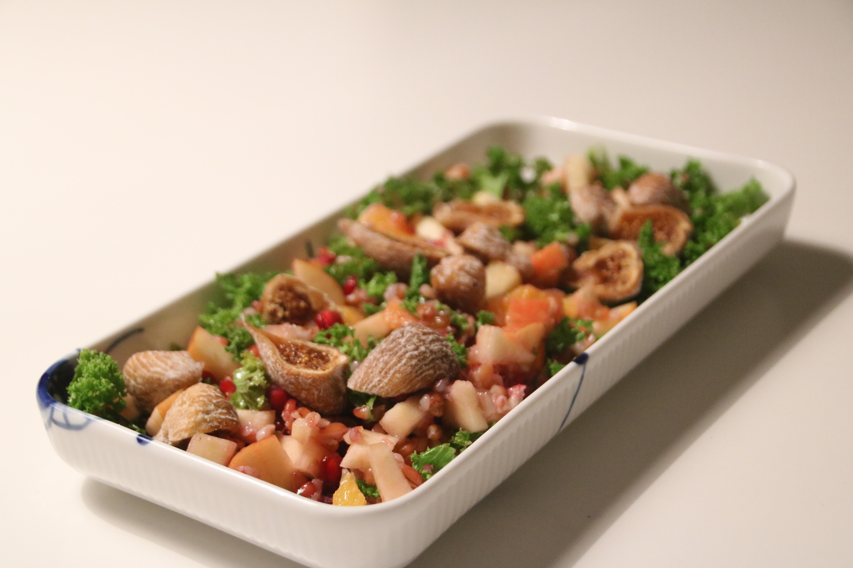 Salat med smag af jul