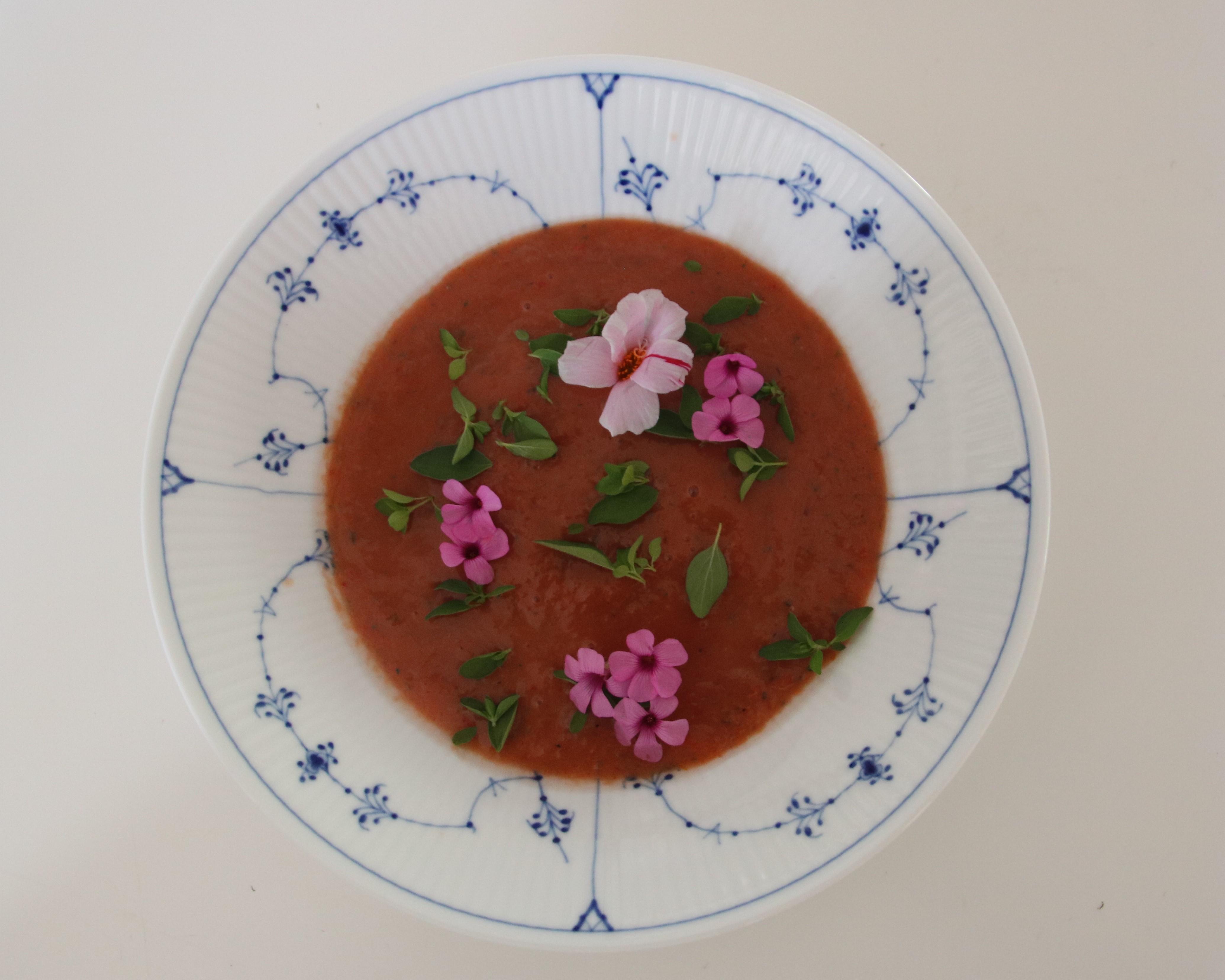 Kold Spansk Suppe