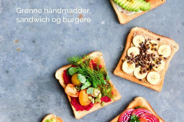 PLANTEMADDER GRØNNE HÅNDMADDER, SANDWICH OG BURGER