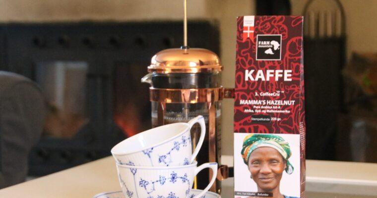 September Måneds kaffe – MAMMA`S Hazelnut